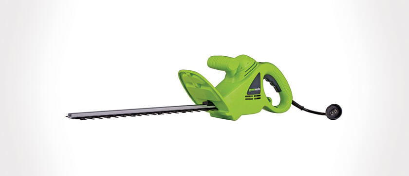 Greenworks 18 Inch Hedge Trimmer