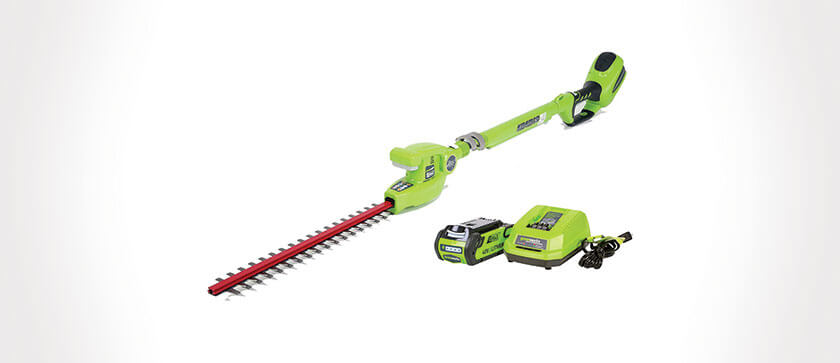 Greenworks 20 Inch Hedge Trimmer