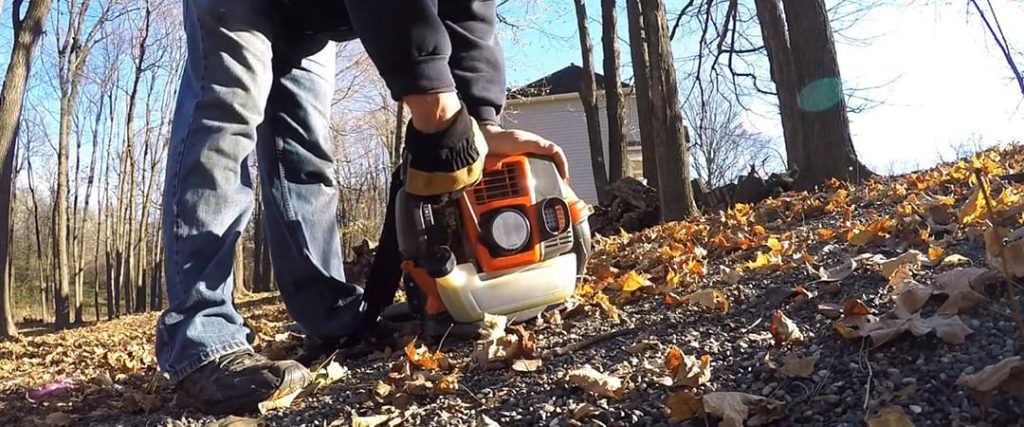 How to Use a Backpack Leaf Blower