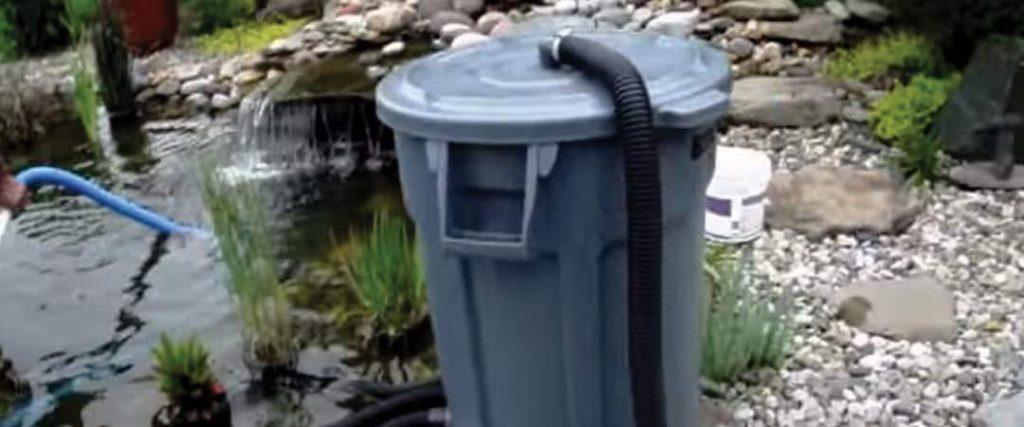 How to make a homemade pond vacuum