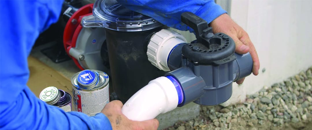 how to install a pond pump