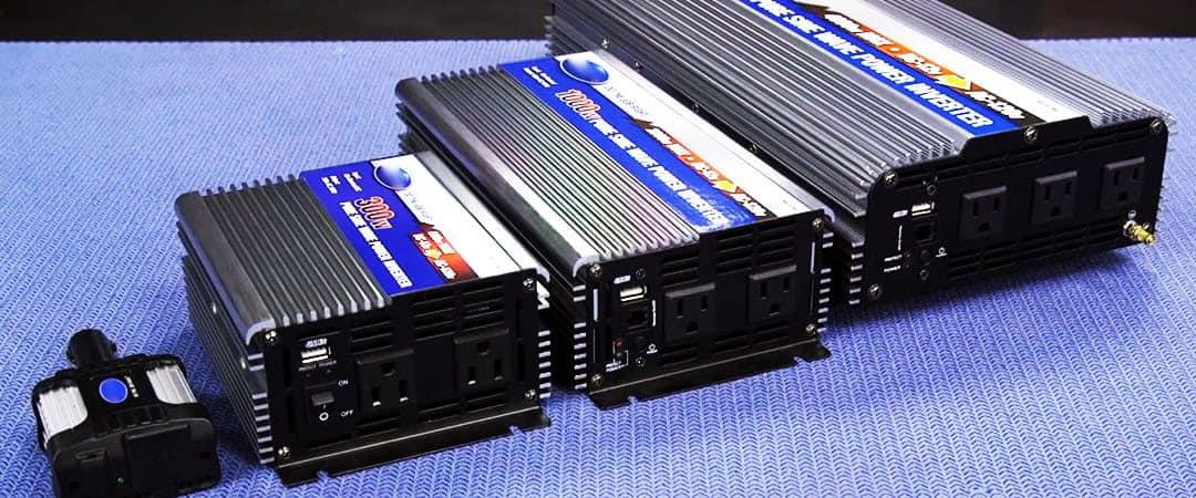 Inverter battery installation